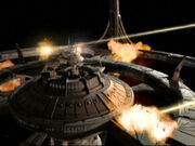 DS9 under attack