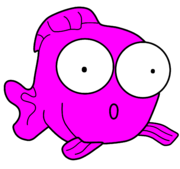 180px Pink fish