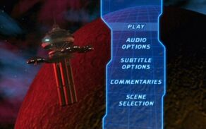 Star Trek The Wrath of Khan Special Edition DVD Main Menu 1
