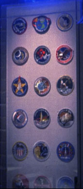 NASA patches, First Flight