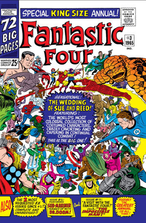 Fantastic Four Annual Vol 1 3