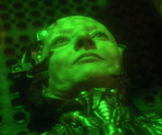 Rooney as Borg