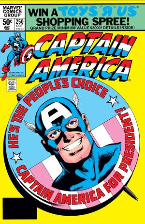 Captain America Vol 1 250