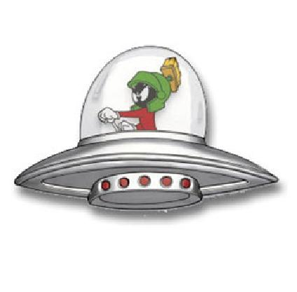 Marvin The Martian Spaceship Drawings