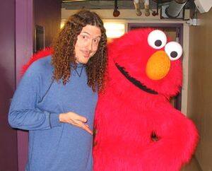 Weirdl Al and Elmo