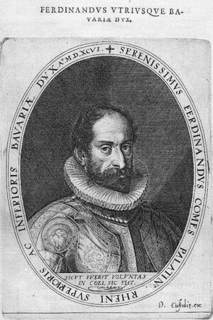 Ferdinand of Bavaria of Cologne