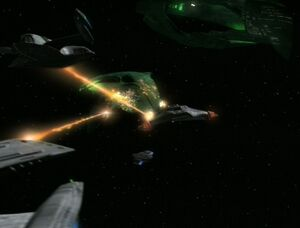 USS Prometheus, multi-vector assault mode attack