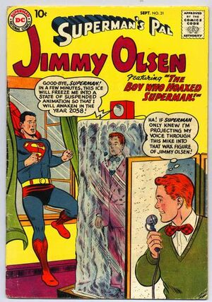Cover for Superman's Pal, Jimmy Olsen #31