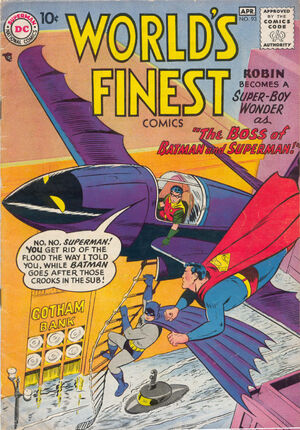 Cover for World's Finest #93