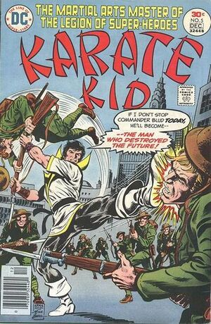 Cover for Karate Kid #5