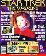 Star Trek The Magazine volume 1 issue 2 cover