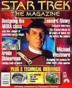 Star Trek The Magazine volume 1 issue 3 cover