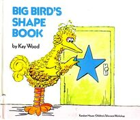 Big Bird's Shape Book
