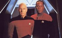 Picard and Sisko