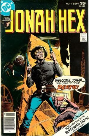 Cover for Jonah Hex #4