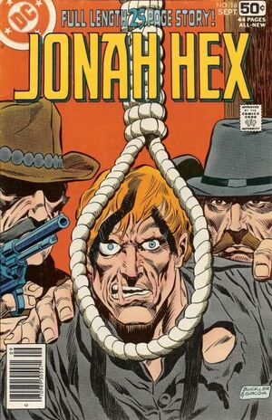 Cover for Jonah Hex #16