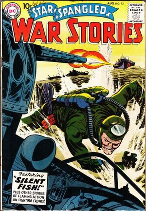Cover for Star-Spangled War Stories #72