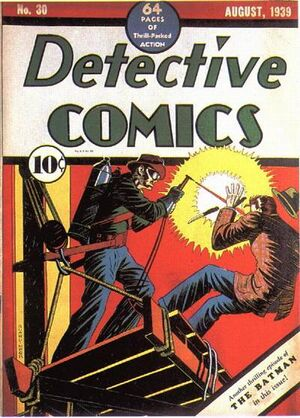 Cover for Detective Comics #30