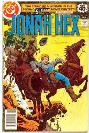 Cover for Jonah Hex #20