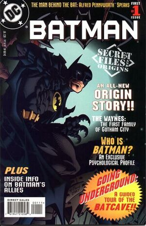 Cover for Batman Secret Files and Origins #1