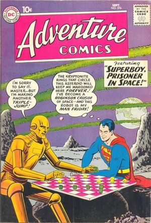 Cover for Adventure Comics #276