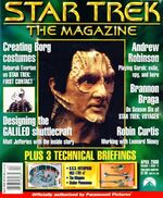 Star Trek The Magazine volume 1 issue 12 cover