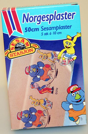 Sesam stasjon plaster