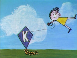 K for kite