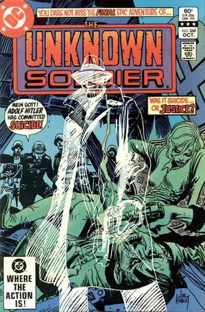 Cover for Unknown Soldier #268