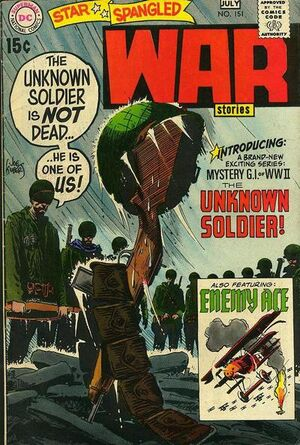 Cover for Star-Spangled War Stories #151