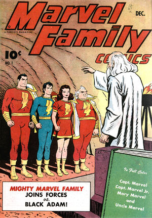 Cover for Marvel Family #1