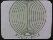 South pole map