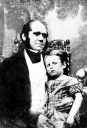 Charles and William Darwin