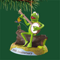Carlton kermit ornament