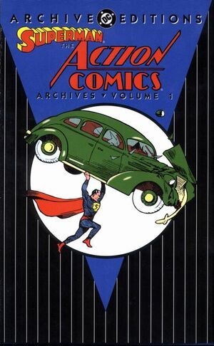 Cover for Action Comics Archives #1