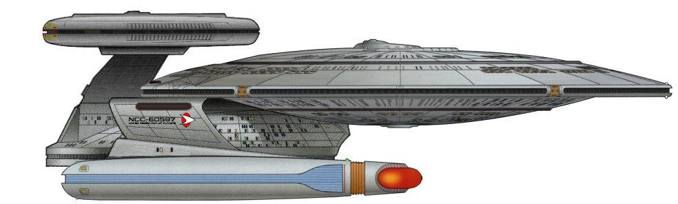"""Класс  """"Небула """", исследовательский крейсер (Nebula class explorer cruiser) ."""