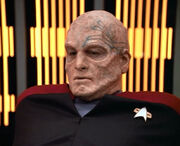 Chakotay bald with tattoo