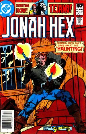 Cover for Jonah Hex #53