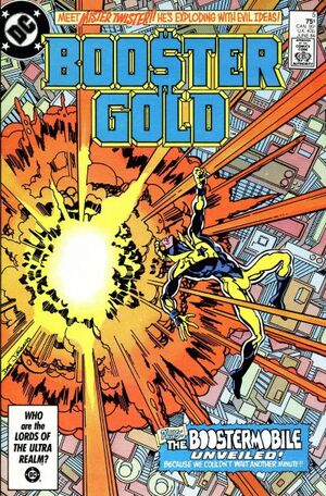 Cover for Booster Gold #5
