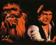 Han und Chewbacca