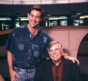 Guy Vardaman and Gene Roddenberry