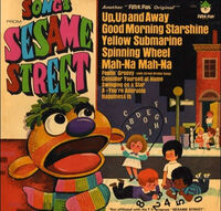 SongsfromSesameStreetRecordCover