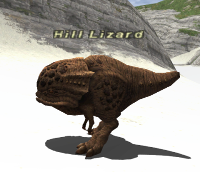 43010 >> Hill Lizard - FFXIclopedia, the Final Fantasy XI wiki - Characters, items, jobs, and more