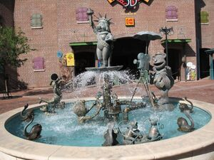 Mv3d fountain