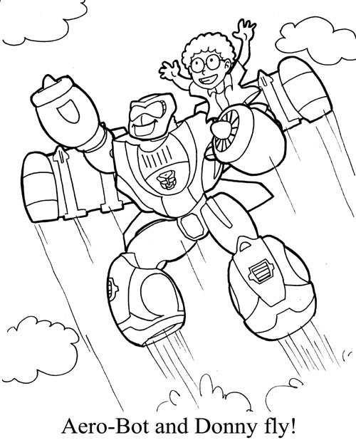 Complete go bots power teletraan i the transformers for Transformers rescue bots coloring pages