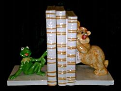 SigmaKermitFozzieBookends