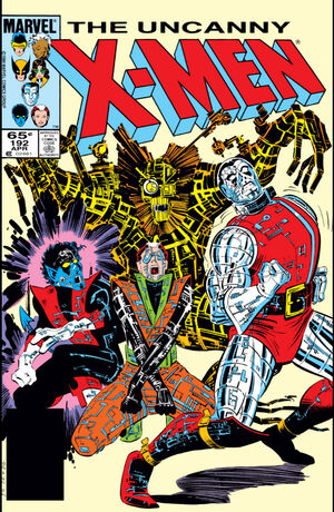 Uncanny X-Men Vol 1 192