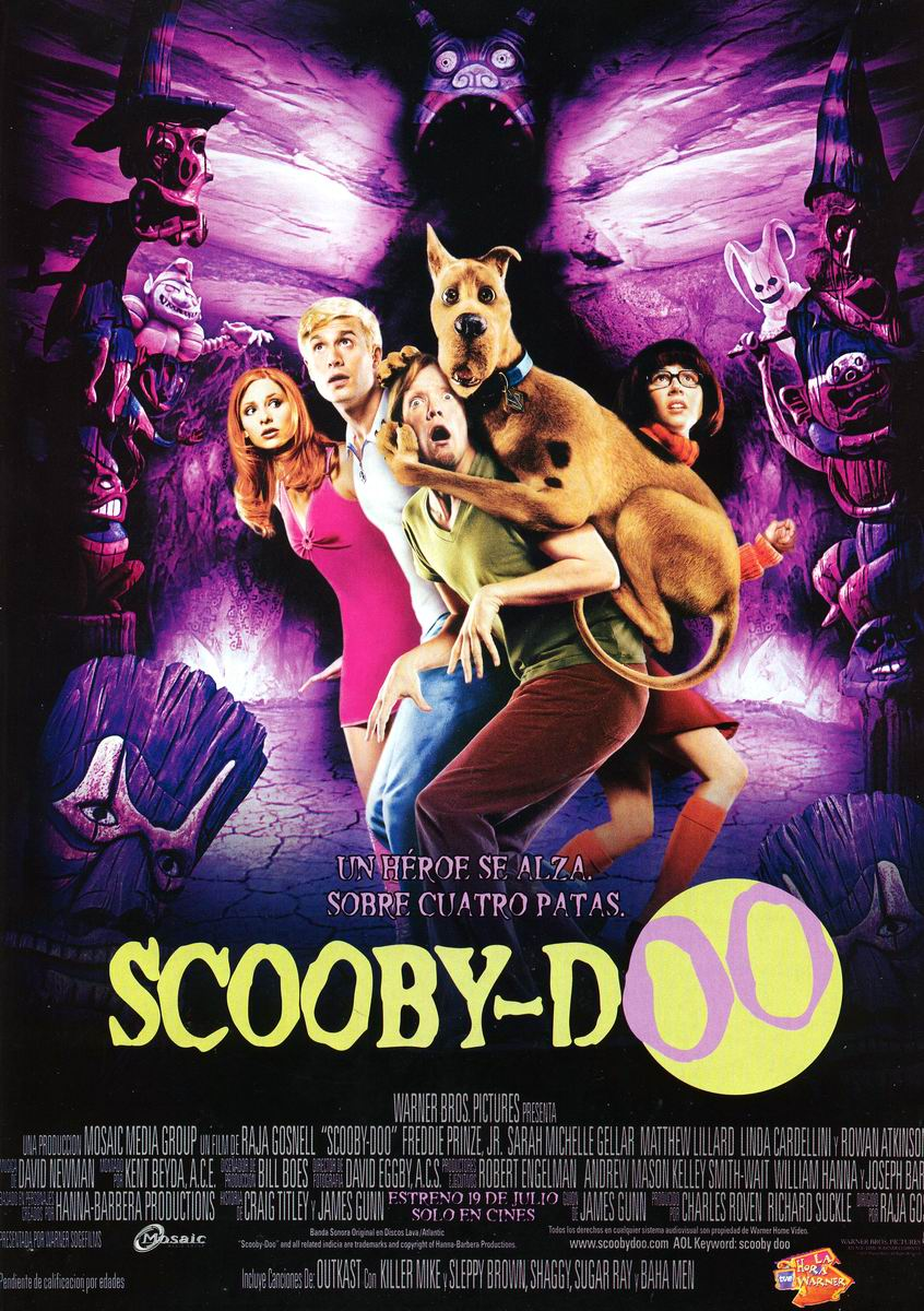 Scooby-Doo (2002) Movie for children