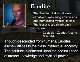 Erudite (Character Race)