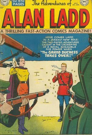 Cover for Adventures of Alan Ladd #8